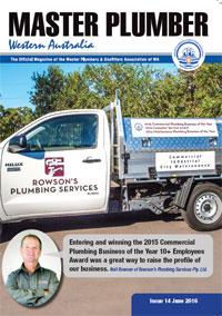 June 2016 edition Master Plumber WA magazine
